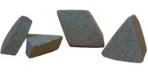 ceramic tumbling media angle cut triangles