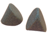ceramic tumbling media cylindrical wedges