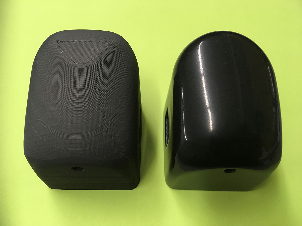 Tumbling 3D Printed Plastic Parts