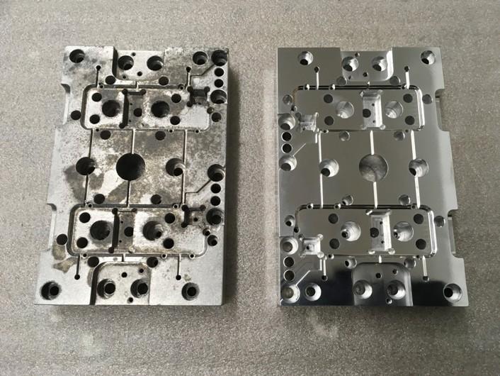 Machined Aluminum Cleaning