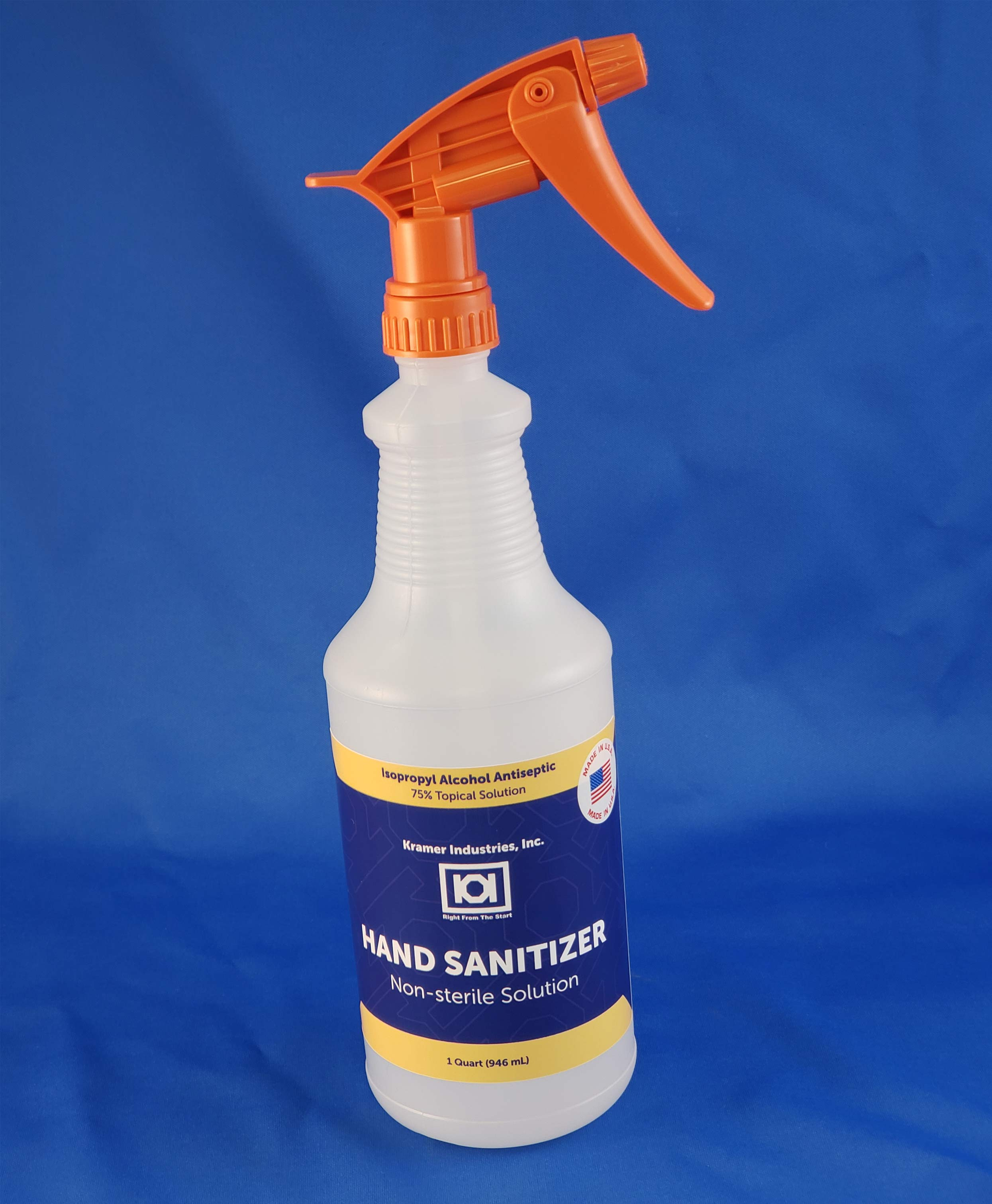 Hand Sanitizer Quart Spray Bottle