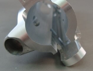 Deburring steel parts