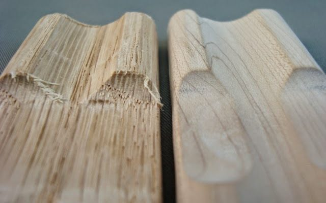 Barrel tumbling for wood