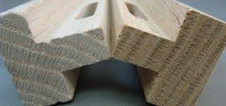 Wood parts tumbling