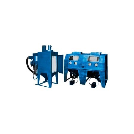 dp9648s - DP Series - Industrial Grade, Direct Pressure, Abrasive Blasting Cabinet System