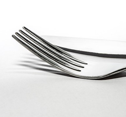 Polished, Shiny Silverware - Fork and Knife