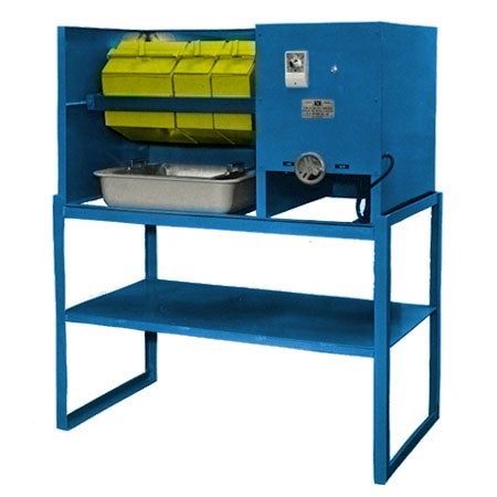 k1406 - K14 Series - Heavy-Duty, Bench-Top Model, Barrel Tumbler