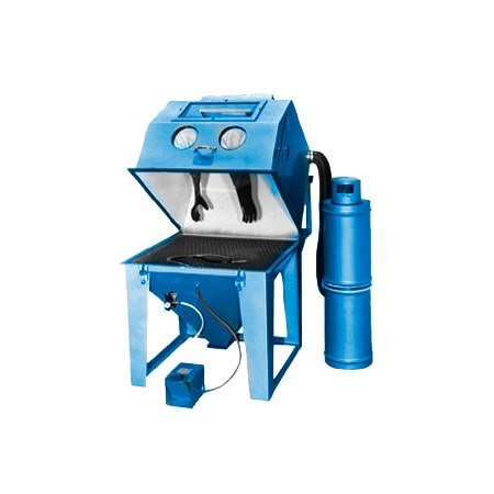 mm4040s - SS Series - Industrial Grade, Suction Style, Abrasive Blasting Cabinet System