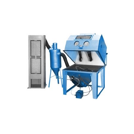 mm4848s - SS Series - Industrial Grade, Suction Style, Abrasive Blasting Cabinet System