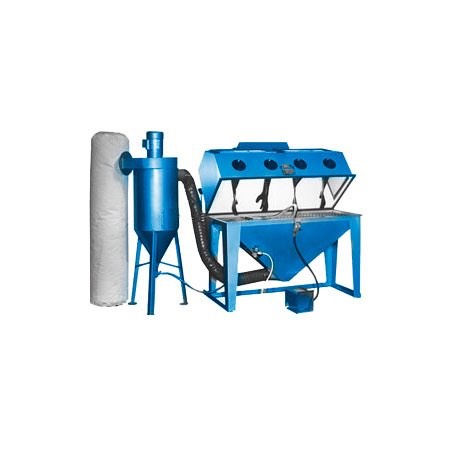 mm6024s - SS Series - Industrial Grade, Suction Style, Abrasive Blasting Cabinet System