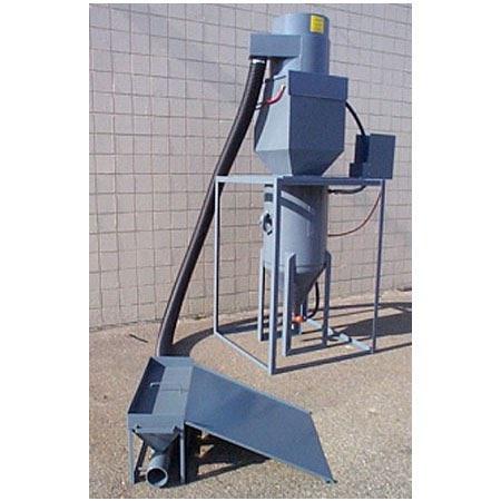 reclaim system large - BRP Series - Industrial Grade, Direct Pressure, Blast Room Package, Abrasive Blasting System