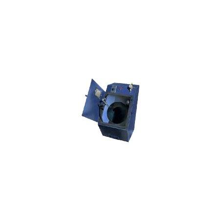 tb1 open - TB Series - Industrial Grade, Tumble Blast, Abrasive Blasting System